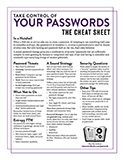 TCo Your Passwords cheatsheet 160x124